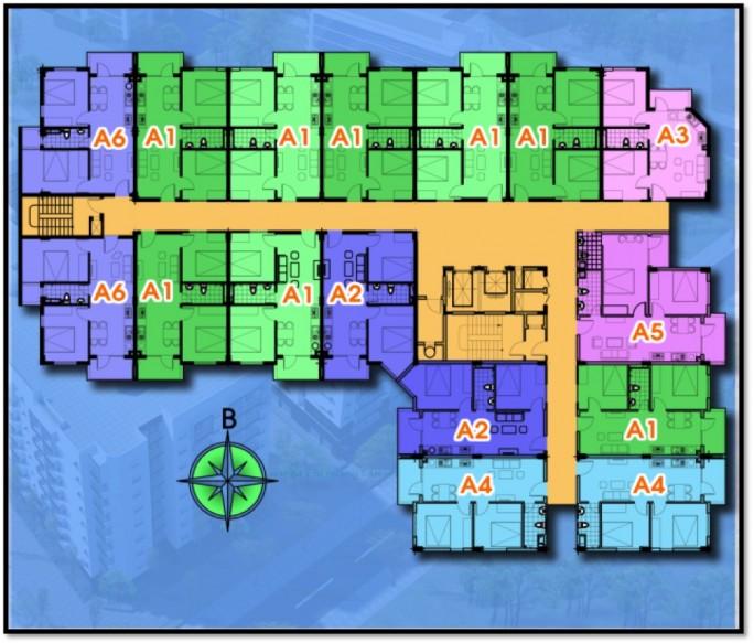 Mặt bằng thiết kế chung cư ARANYA