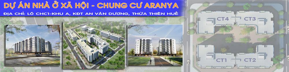Dự án nhà ở xã hội Huế – Chung cư ARANYA header image